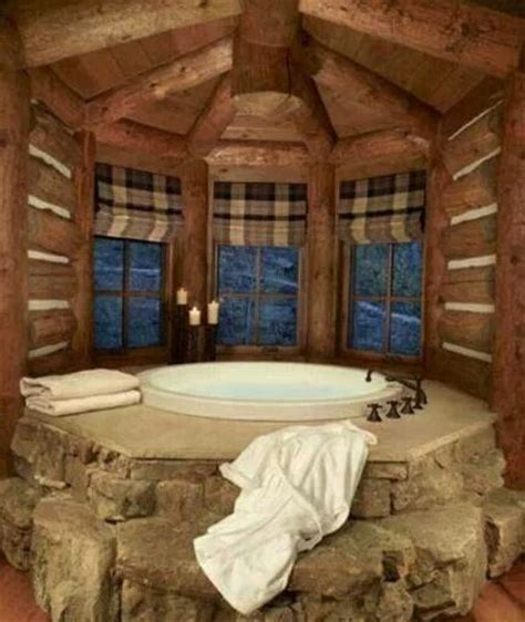 Log Cabin Bathroom by Log Cabin Bathroom Log Homes House