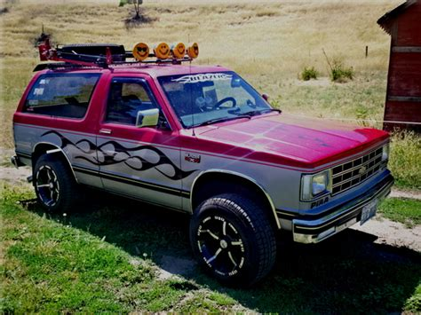 S10 Blazer Roof Rack by Extreme Blazer 1985 Chevrolet S10 Blazer Specs Photos