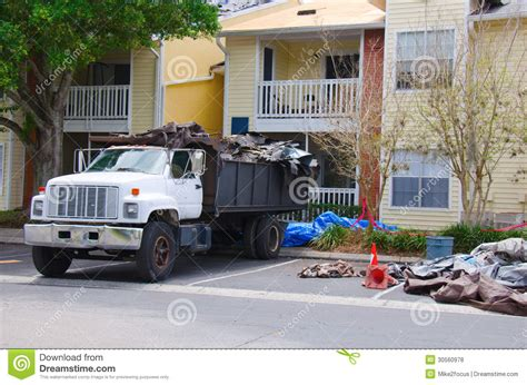 concept work truck work dump truck at a construction site stock photo image