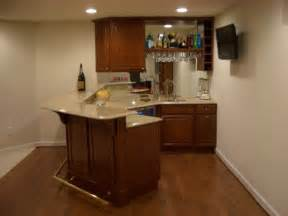 25 best ideas about small basement bars on