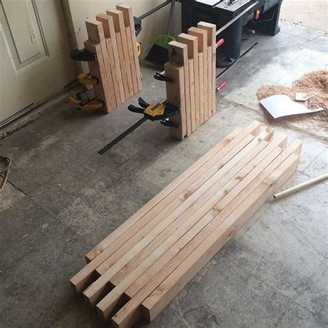 diy 2x4 bench 25 best ideas about 2x4 bench on pinterest diy wood