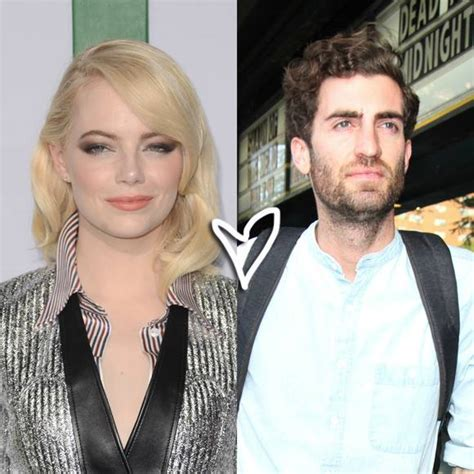 emma stone boyfriend 2017 emma stone s new bf dave mccary never wanted to be famous