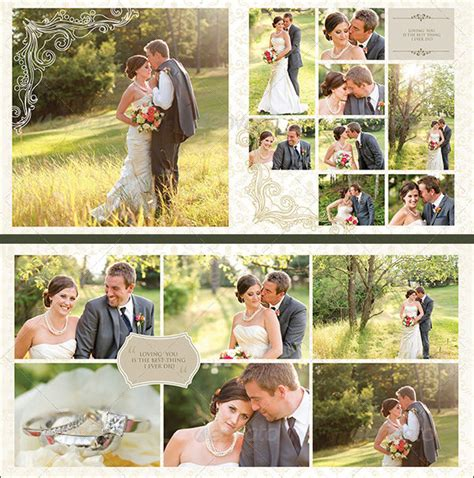 Wedding Album Words Psd by Wedding Template 21 Free Word Excel Pdf Psd