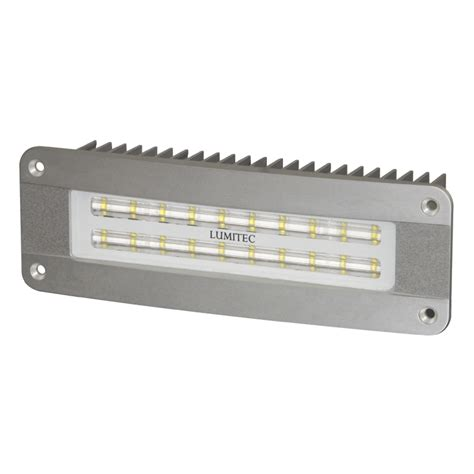 24 volt led light lumitec maxillume2 flush mounted ip67 flood light 12 24