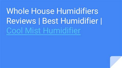 whole house humidifier reviews whole house humidifiers reviews best humidifier cool mist humidif