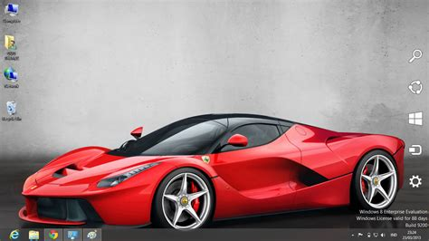 download themes of cars for pc download gratis tema windows 7 laferrari car windows 8 theme