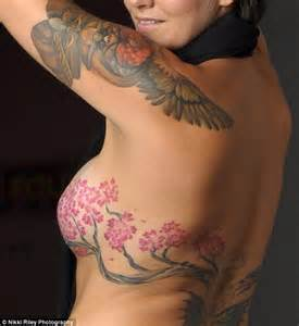 tattoo flower nipple boob cover picture