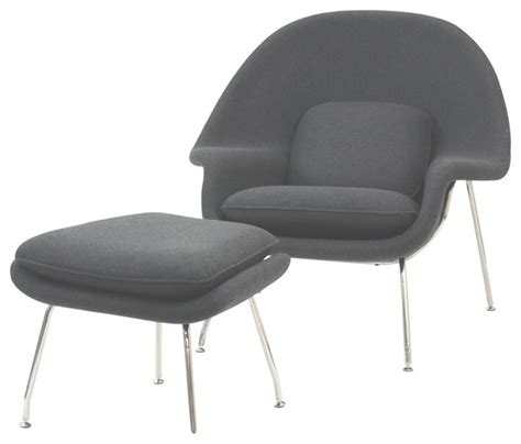 grey lounge chair and ottoman modern light gray fabric lounge chair with ottoman wall