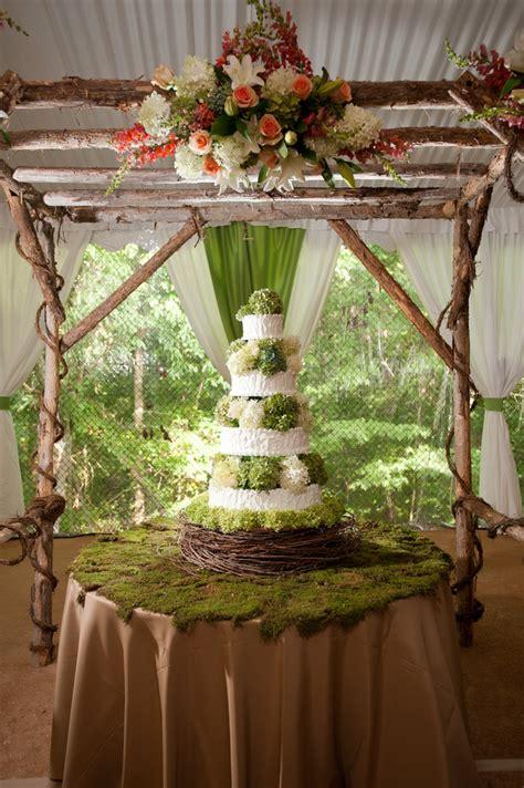 backyard wedding cake ideas elegant rustic country backyard wedding in tennessee