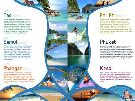 design inspiration travel brochure 51 best travel brochures exles 2018 cssdive