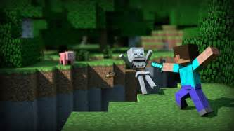 fighting minecraft picture