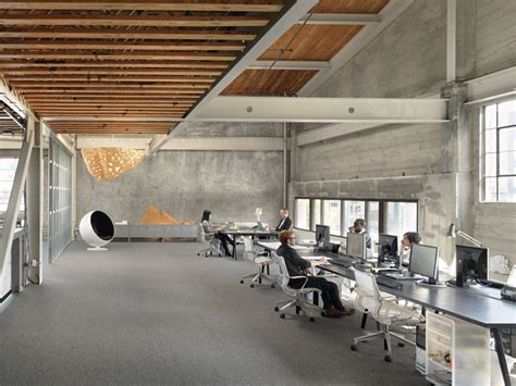 gorgeous office space iwamotoscott transforms 1940s warehouse into a gorgeous