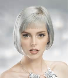 gray hairstyles in a short grey hairstyle from the urban glam winter 2016 collection by william de ridder no 27754