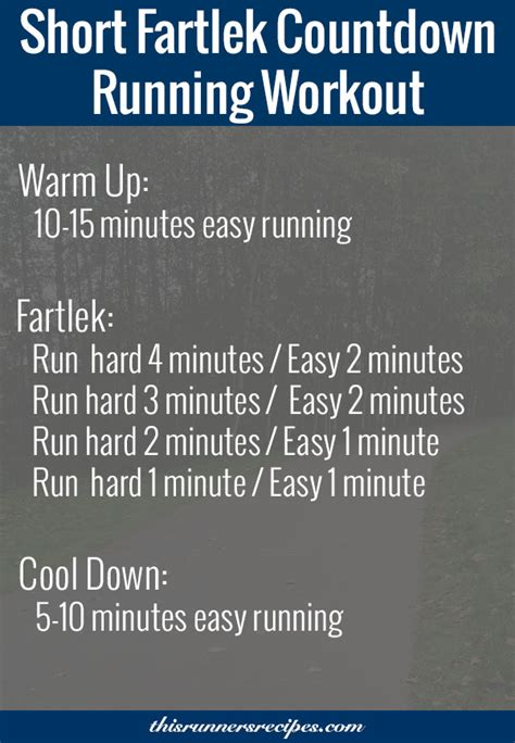 running workouts for beginners run whirlwind run pinterest running workouts and running fartlek countdown running workout for off season speed work