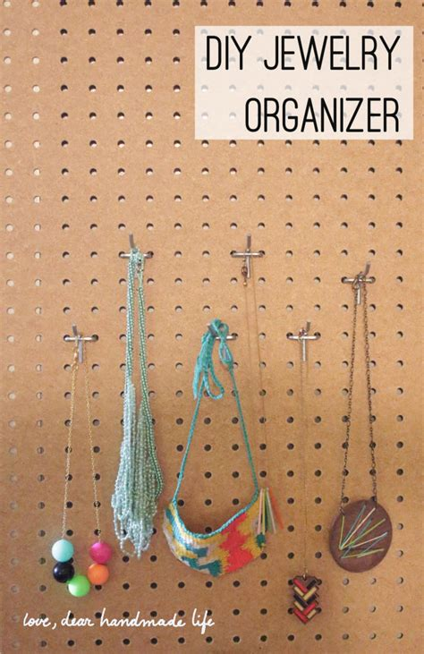 Diy The Door Jewelry Organizer by Diy Jewelry Accessories Diy Wiki