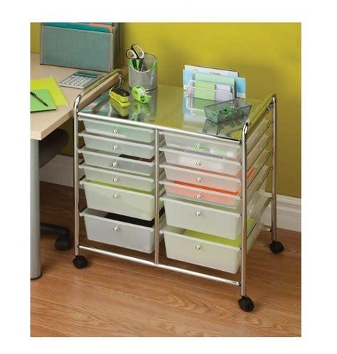 Craft Paper Storage Drawers - drawer storage organizer rolling cart office tools paper