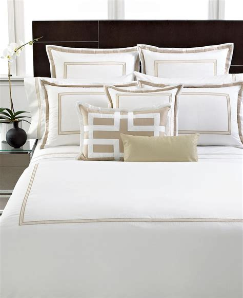 macy s hotel collection bedding hotel collection bedding tuxedo embroidery collection