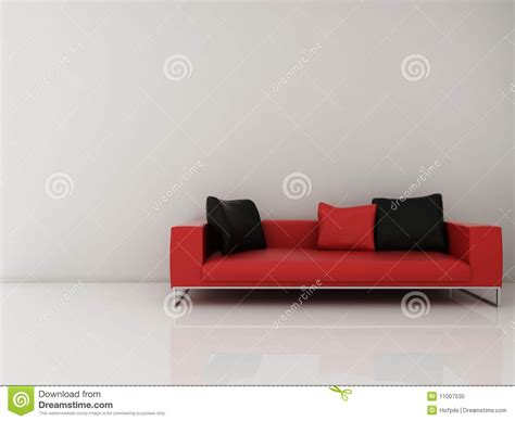 face couch couch to face a blank wall royalty free stock photo