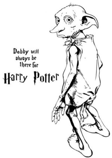 harry potter dobby coloring pages dobby coloring pag coloring pages