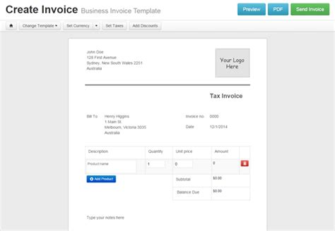 10 best images of cool invoice template creative invoice