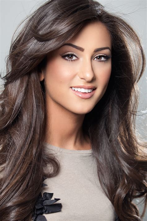 neutral light brown hair kristen danyal is miss michigan usa 2012 irenesarah