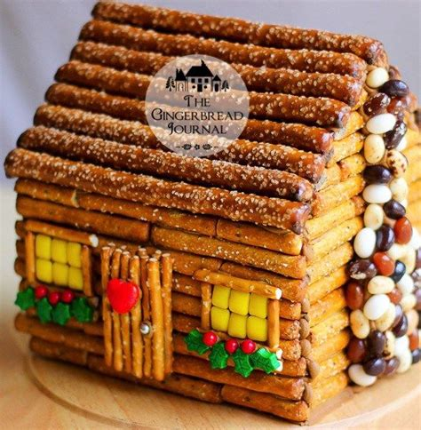 gingerbread log cabin template 17 best ideas about gingerbread house kits on