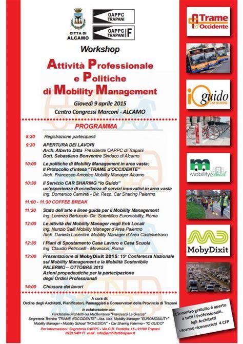 quot attivit 224 professionale e politiche di mobility management
