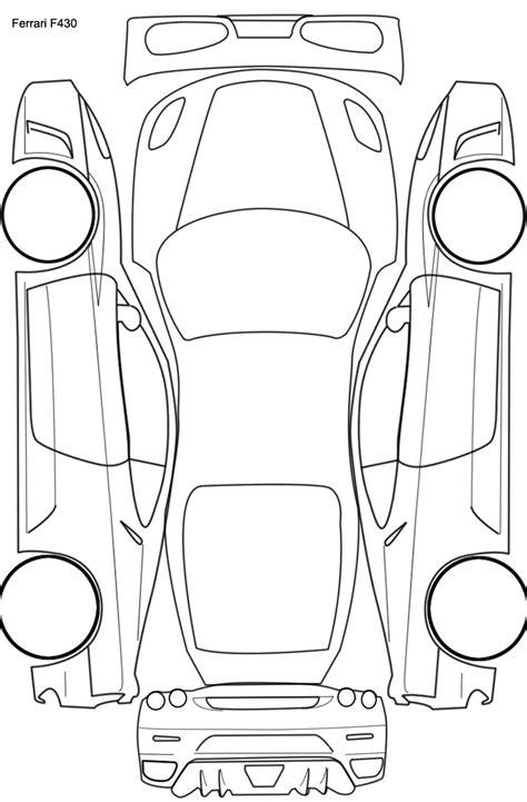 car plan diagram for ptg readings etc detailing world