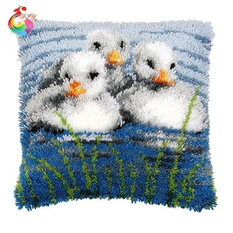 rug yarn diy mat needlework kit unfinished crocheting rug yarn cushion embroidery carpet diy rug carpet