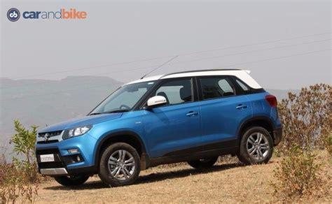 uing cars of maruti suzuki maruti suzuki vitara brezza india price review images
