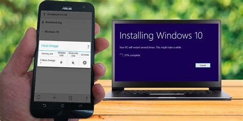 install windows 10 on any phone how to install windows 10 from an android phone make