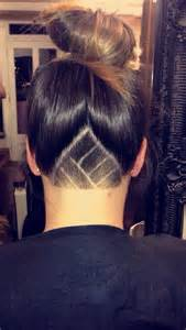 nape of neck haircuts shaving nape of neck short hairstyle 2013