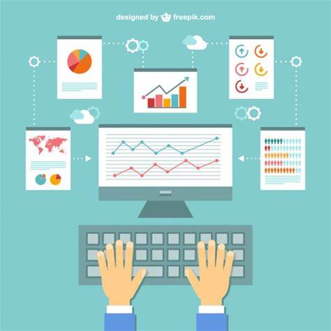 Office working documnts infography Vector Free Download