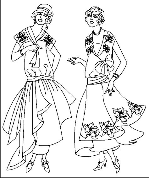 Fashion Coloring Pages fashion coloring pages coloringpagesabc