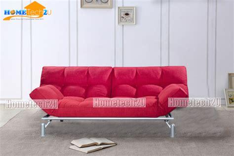 Sofa Bed Di Lazada clo creative modern 3 seater fabric sofa bed blue