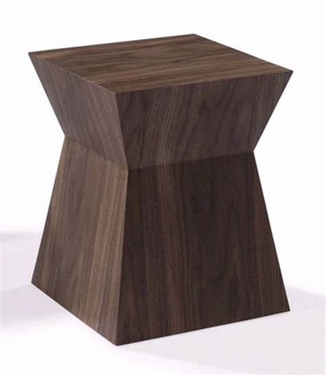 wood block end table block end table wooden living room furniture ultra