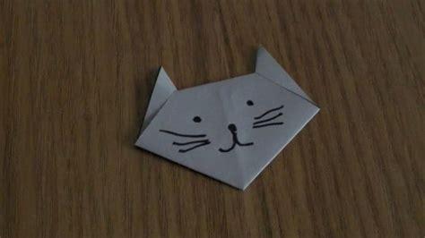 Origami Chat - origami comment faire un chat en papier origami