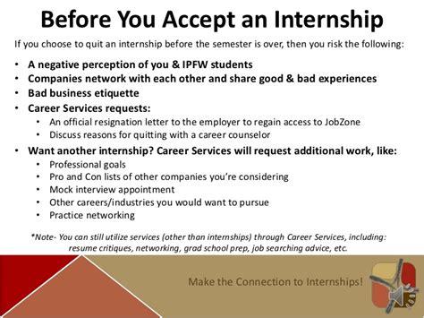 when to quit your internship internship prep guide