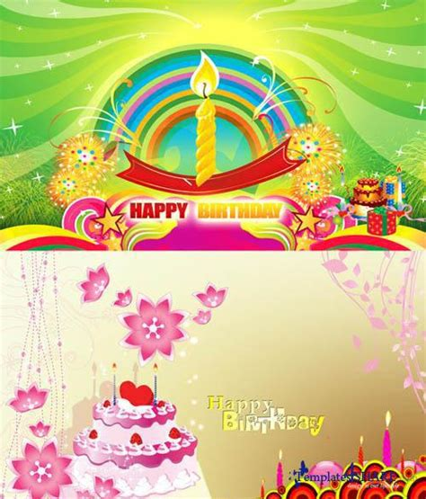 Happy Birthday Card Template Psd by Happy Birthday Cards Psd Templates 187 Templates4share
