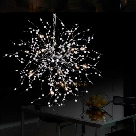 aliexpress buy beaded floral chandelier light
