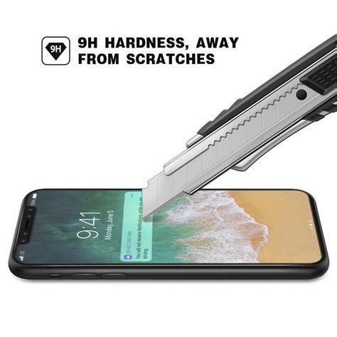 Tempered Glass 3d 4d 5d Covered Curved For Iphone X Depan Saja for iphone x iphone 8 plus 3d 5d curved covrage cover tempered glass screen