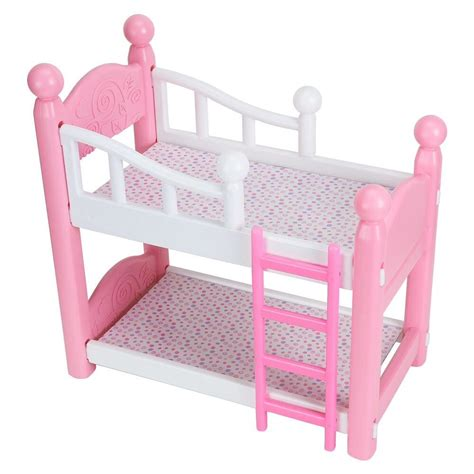 Baby Doll Bunk Bed Baby Doll Bunk Beds Bedding 18 Quot American Dolls Pretend Play Ebay