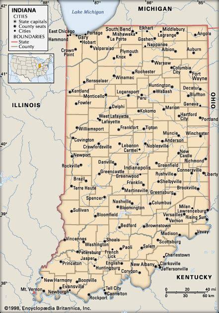 all cities in map indiana cities encyclopedia children s homework