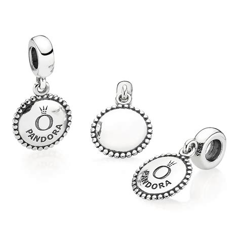 Engravable Icon Dangle Charm P 269 pandora charms catalog icon