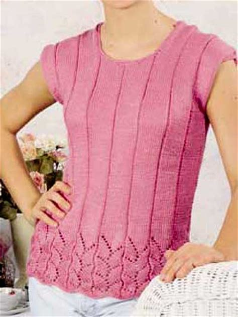 knitting patterns summer tops free sleeved sweater knitting patterns summer