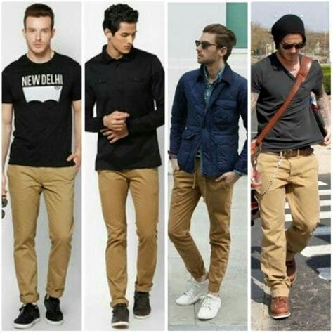 colors that go with khaki pant ne