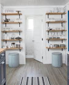 shelving ideas for kitchens coastal living cottage design ideas paint colors home bunch interior design ideas