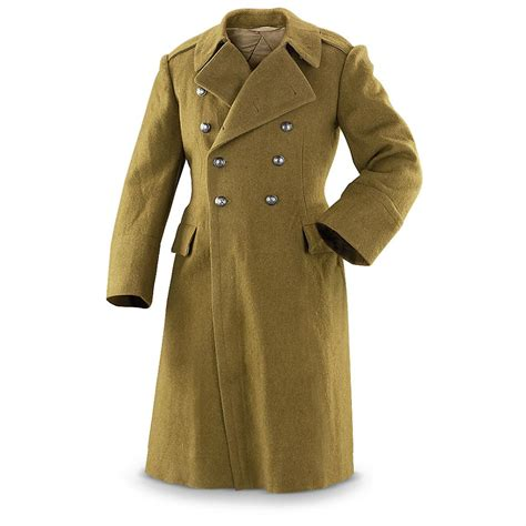 Trench Coat surplus wool trench coat new 230130