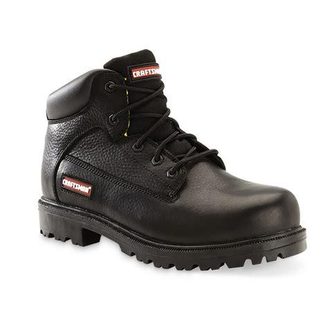 craftsman boots craftsman s soft toe leather work boot kahn black