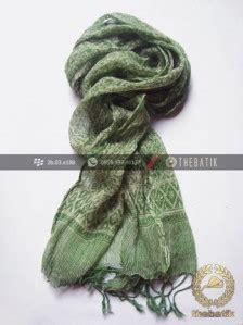 Syal Batik Hitam Kode E775 jual syal batik warna hijau pupus thebatik co id